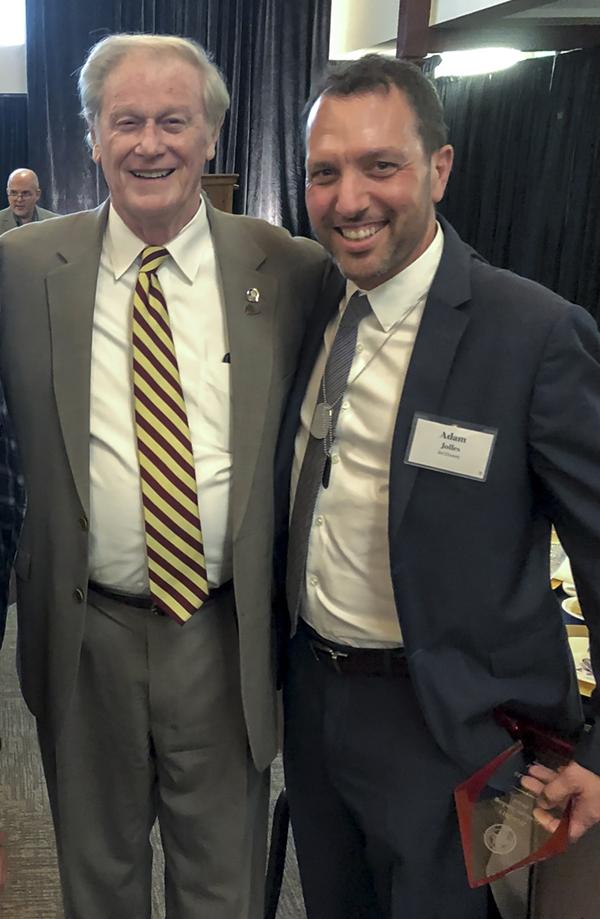 Dr. Jolles & President Thrasher