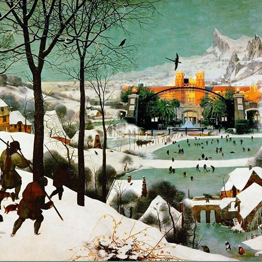 Hunters in the Snow with FSU (with apologies to P. Bruegel)