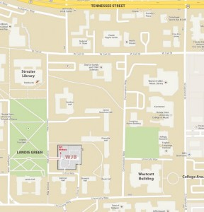 WJB Campus Map