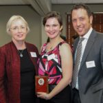 Victoria Sunnergren with Dr. Bearor and Dr. Jolles