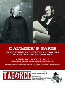 Daumier Exhibition flyer printable