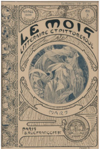 Alphonse Mucha, Le Mois Litteraire et Pittoresque, March 1899, Collection of Patrick M. Rowe