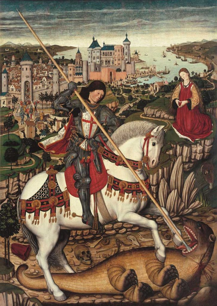 Pere Nisart, St. George & the Dragon