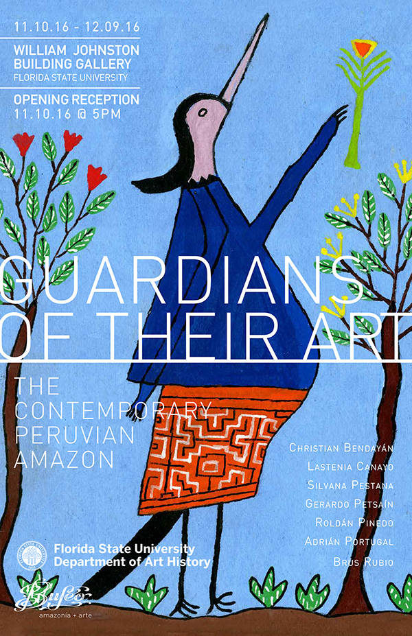 Guardians of Their Art opening flyer