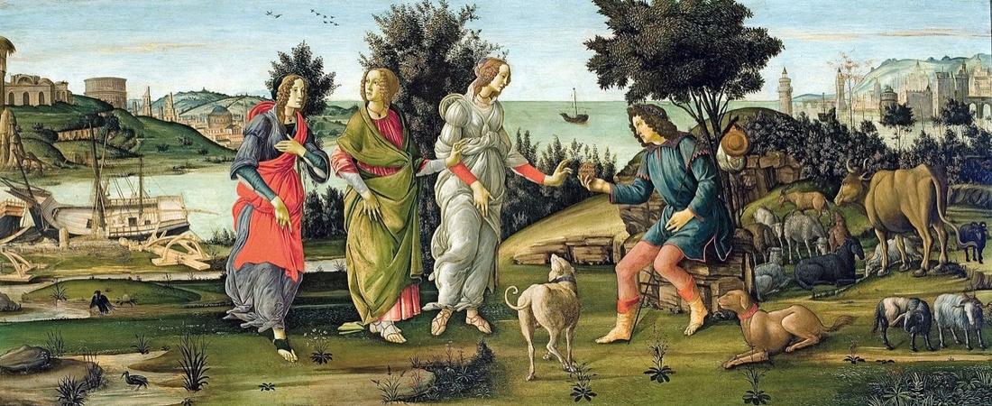Botticelli painting