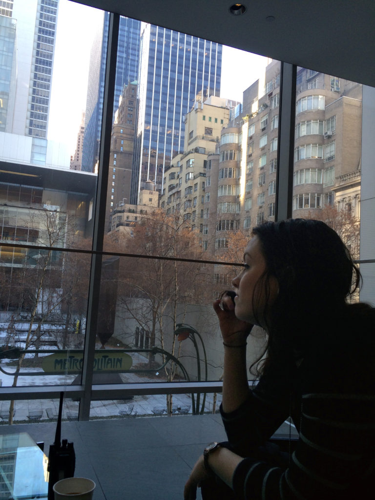 Caorline Keegan at MoMA