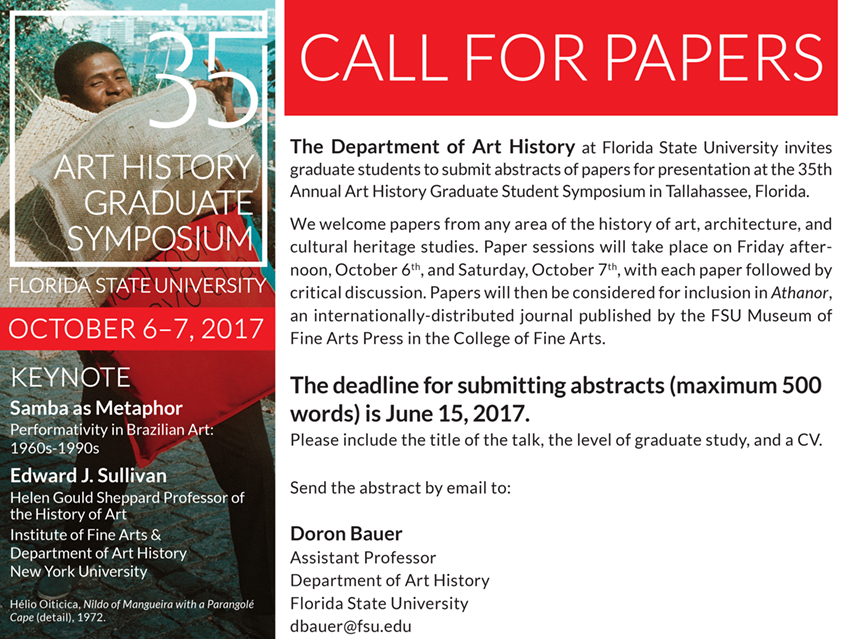 Symposium Call for Papers
