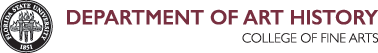 FSU Department of Art History logo