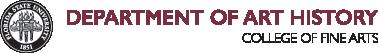 FSU Department of Art History logo