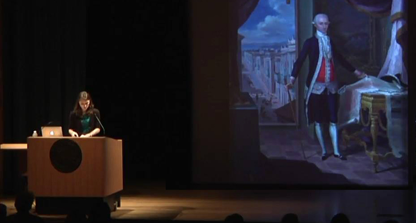 Emily Thames presentation at SAAM Fellows Lectures 2017