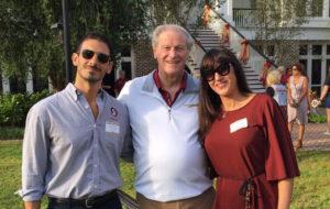 Frank Nero, President Thrasher, Lucia Cossari