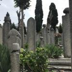 Stele graveyard
