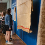 Treasured Cloth Exhibtion Opening