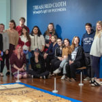 Class Photo from Treasured Cloth Exhibtion