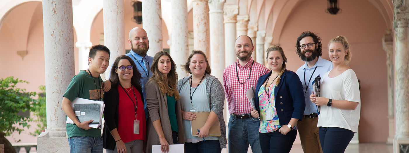 MCHS Interns at The Ringling