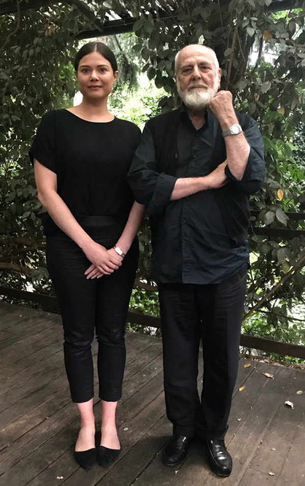 Dr. Tenley Bick and Michelangelo PIstoletto