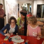Workshop for painting Tablas of Sarhua