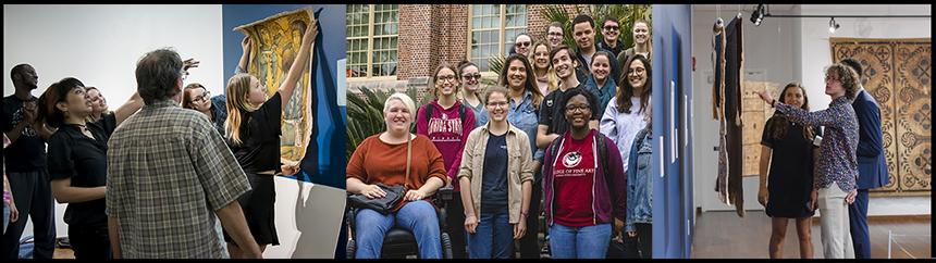 Museum Object undergraduate class groups, 2018–2020