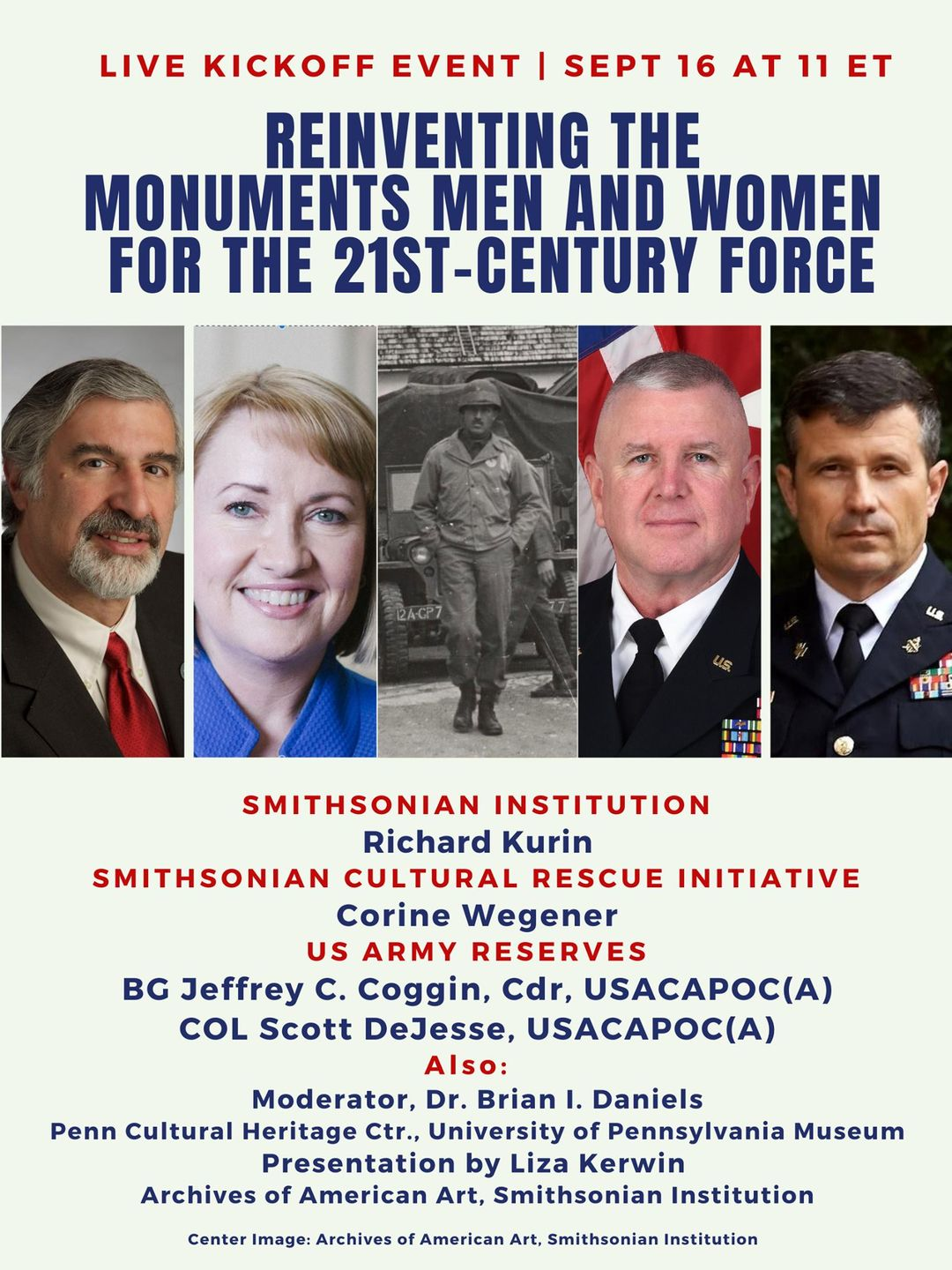 mounments men and women event flyer
