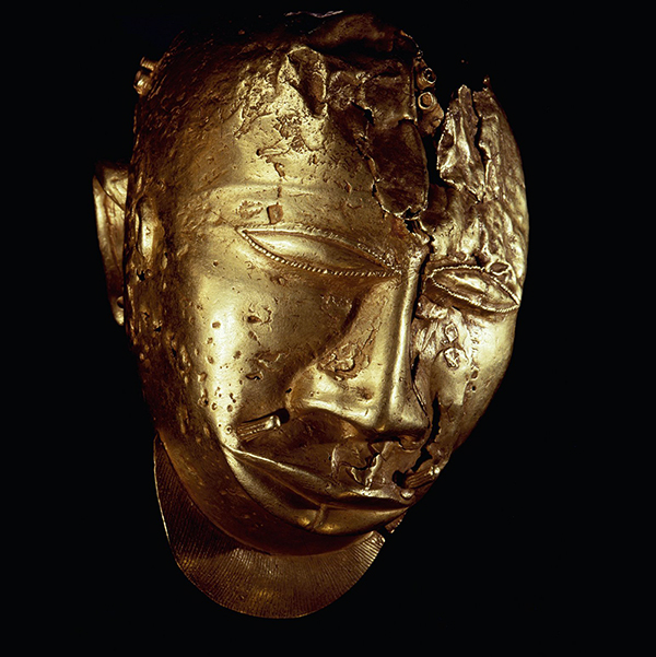 Asanti trophy head